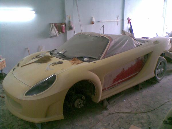 Luxurypart Making Mr2 Spyder Mrx Z Project 95